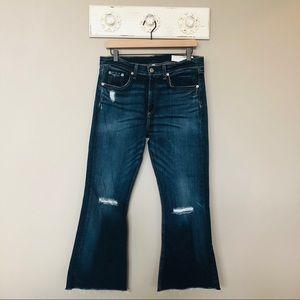 rag & bone | 10 Inch Flare Jeans in Mabel Size 31